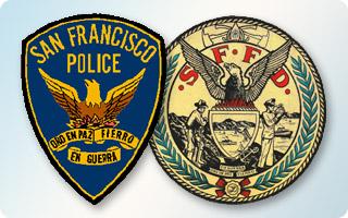 sfpd and sffd logos