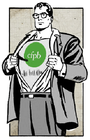CFPB Clark Kent/Superman